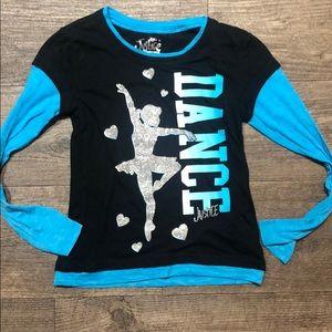 "Justice ""dance"" shirt"